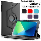 Smart Case PU Leather Rotating Cover For Samsung Galaxy Tab A 10.1 SM-P580
