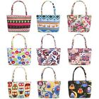 New Women Canvas Summer Beach Large Tote Bag Shopping Bag Shoulder Bag EN24H