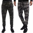 Mens Casual Camo print Jogging Bottom Street Lounge Wear Pant L&F Sizes S – XL