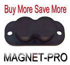 MAGNET-PRO Magnet Concealed Gun Mount Holder for desk bed  table 25LB Rating