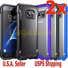 2PCs Hybrid Rubber Shockproof Protective Cover Case For Samsung Galaxy S7