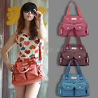 Fashion Womens Casual Canvas Shoulder Bag Lady Casual Handbag Travel Tote P4X1