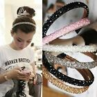 Womens Bling Rhinestone Crystal Headband Hair Band Head Piece Chain Jewelry B20E