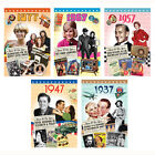 Birthday DVD Gift Card - 40th 50th 60th 70th 80th 1977 1967 1957 1947 1937