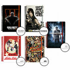 Official NOTEBOOKS (Gaming/TV/Film Character Themes) (School/Stationery)