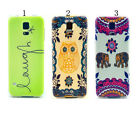 Elephant Owl Silicone TPU Case Cover Skin For Samsung Galaxy S5