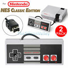 2 PCS Game Controller Gamepad For Nintendo NES Mini Classic Edition Console New