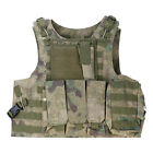 Military SWAT Airsoft Adjustable Tactical Vest Army Hunting Paintball Carrier