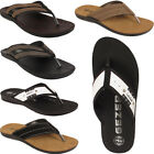 New Mens Slip On Casual Holiday Gezer Sandals Toe Post Flip Flops Shoes Sizes UK