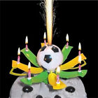 Romantic Musical Rotating Football Soccer Happy Birthday 8 Candle Light JR