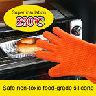 Kitchen Heat Resistant Silicone Gloves Oven Mitts Pot Holder Baking BBQ Cooking