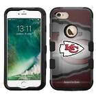 Kansas City Chiefs Hybrid Rugged Impact Armor Case for iPhone 5s/SE/6/6s/7/Plus $19.95 USD on eBay