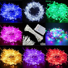 Battery Power Operated LED String Fairy Lights 20/30/40/50/80 Xmas Indoor Party