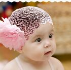 Lovely Baby Toddler's Lace Flowers Hair Accessories Headband Hat O742