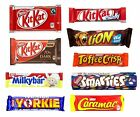 6x NESTLE CHOCOLAT énorme Gamme Magasin De Bonbons UK/Britannique/Candy/Barres/