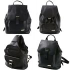 Womens Alpine Swiss Genuine Leather Backpack Purse Handbags 1 Year Mfg Warranty