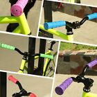 Fantastic Handle Bar Rubber End Grip Soft BMX MTB Mountain Bicycle Scooter