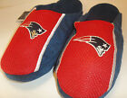 New England Patriots NFL forever Team Slippers JERSEY SLIDE on mens Size S-XL
