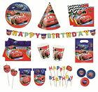 DISNEY CARS 2 Birthday PARTY RANGE (Partyware/Celebration/Decoration)