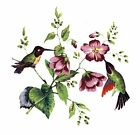 Hummingbird Flowers Select-A-Size Waterslide Ceramic Decals Xx