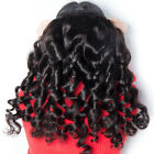 1/3/4 Bundle Brazilian Virgin Human Hair Weave Extensions Loose Wave Hair Weft