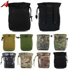 Tactical Molle Belt Magazine Ammo Cartridge Dump Drop Pouch Bag Airsoft Hunting