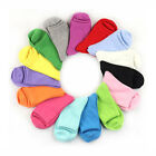1/3/5Pairs Lot Women Socks Cotton Blends Warm Dress Socks Crew Multi-Color