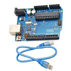 UNO R3 Board + Ethernet Shield W5100 SD Slot Expansion Board For Arduino US
