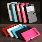 Ultrathin light UNIVERSAL LEATHER CASE COVER WITH STAND FOR myPhone prestigio