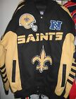 New Orleans Saints Cotton Twill Team Jacket - Free Shipping - New