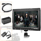 """US Feelworld FW759 7"""" IPS 1080P Field HDMI Video Monitor DSLR +Battery for Sony"""
