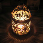 Creative Hollow Hanging Bird Cage Candle Holder Candlestick
