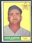 1961 Topps #533 Jack Curtis EXMT 48416
