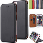 Classic Flip Cover Stand Card Slot Wallet Leather Case For Iphone 7 7 Plus 6 6S