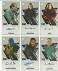 Topps Doctor Who Tenth Doctor Adventures Widevision Silver Autograph #ed / 10
