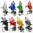 FXCNC Rearset Footrest Foot Pegs Brake Shift Pedals For Yamaha YZF MT3 MT-3