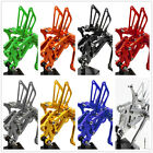 Fit Yamaha YZF R125 2008-2013 CNC Racing Front Rearsets Footrest Footpeg Adjust