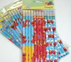 Elmo Sesame St Wooden Pencil Boys & Girls Birthday School Party Favor Bag Filler