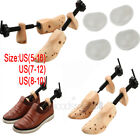One Pair Women Shoe Stretcher 2-Way Wood Ladys Shoes Stretcher Sizes From 5-12
