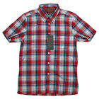 Mens Ben Sherman Mod Regular Fit Cotton Check Print Shirt Laundered Fabric