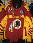 Washington Redskins Cotton Twill Team Jacket - Free Shipping - New