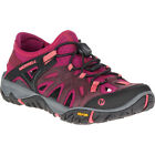 Merrell All Out Blaze Sieve Womens Footwear Aqua Shoes - Vineyard Wine All Sizes