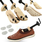 1-2Pcs Mens / Women Wooden Adjustable 2-Way Shoe Stretcher Shaper Tree US(5-12)