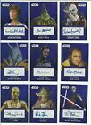 2016 Topps Star Wars Evolution Purple Parallel Autograph Card Serial #ed / 25 $107.05 CAD