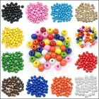 Wholesale 1000Pcs Round Wood Spacer Loose Wooden Beads 5.5x3mm Jewelry Making