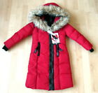 NWT Canada Weather Gear Girl's Warm Parka Faux Fur Hood Long Coat Red 5/6 $150