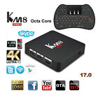 Fully Loaded Octa Core KM8 PRO Android Wifi Bluetooth TV Box+Backlit Keyboard