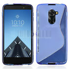 Slim TPU Rubber Flexible Soft Case Shockproof Phone Cover For Alcatel Idol 4S