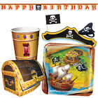 BURIED TREASURE Birthday Party Range - Pirate Tableware Balloons & Decorations