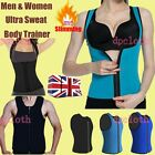 UK Ladies Slimming Shapewear Neoprene Sauna Body Shaper Vest Tank for Women New